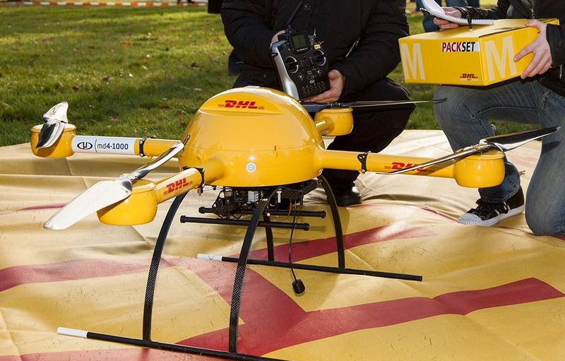 A delivery drone